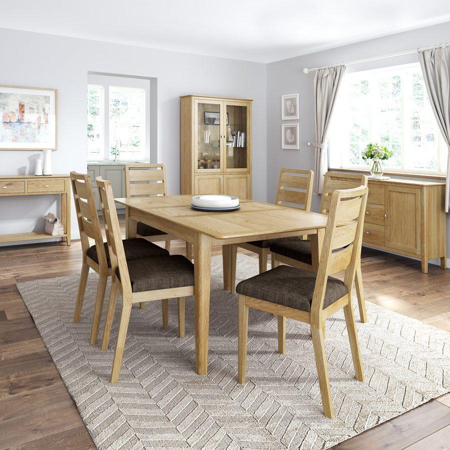 Assembled Oak Dining Room Furniture
