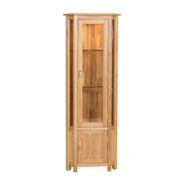 Oak Display Cabinets Free Delivery